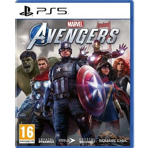 Marvels Avengers PS5 Game